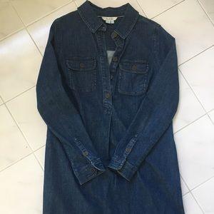 Boden women's denim dress. Size 4R.